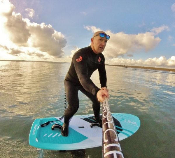foiling 53 ncw gulf stream chest zip wetsuit